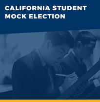 Student Mock Elections button link