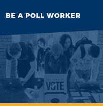 Be a Poll Worker information link