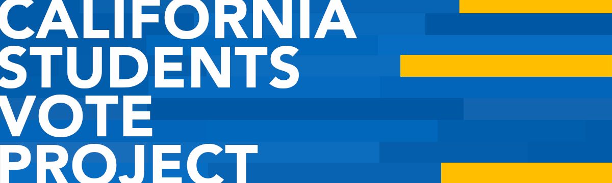 california students vote project banner
