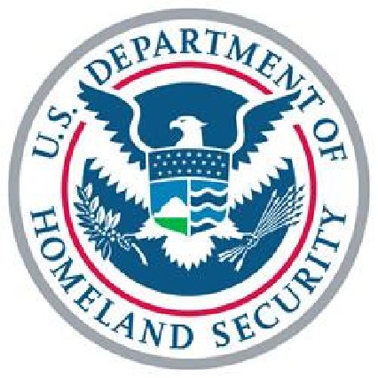 Department of Homeland Security button