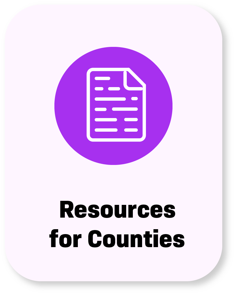 resources for counties buttons