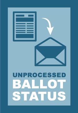 Unprocessed Ballot Report