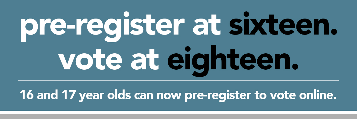 Pre-register to vote